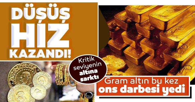 Son dakika haber: Gram altın bu kez ons darbesi yedi: Altın fiyatları düşecek mi yükselecek mi?
