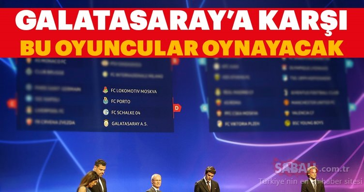 İşte Galatasaray'ın rakiplerinin bilinmeyenleri