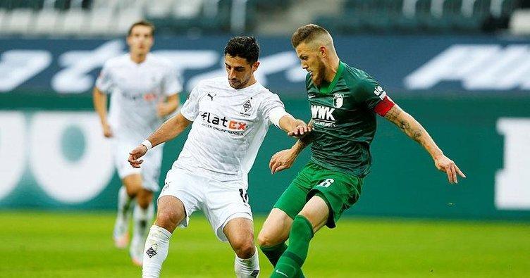 Augsburg son dakikalarda puanı kaptı! Borussia Mönchengladbach 1-1 Augsburg Borussia Mönchengladbach Augsburg özet izle