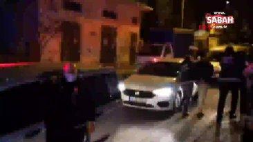 Bursa'da uyuşturucu operasyonunda mahalleliden polislere alkışlı destek | Video