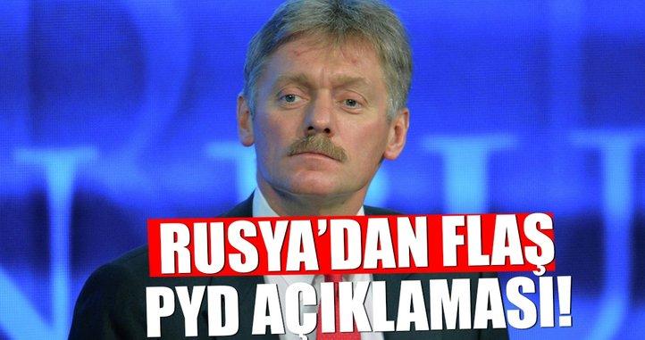 Rusya'dan flaş PYD açıklaması!
