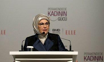 Emine Erdoğan Perakendede Kadının Gücü Konferansı'na katıldı