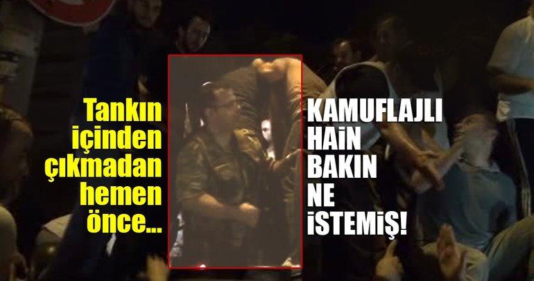Son dakika: FETÖ'cü hain Mithat Aynacı, polislere 'tişört verin öyle teslim olacağım' demiş