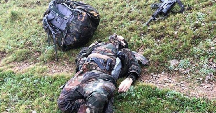 Giresun'un Yağlıdere kırsalında 1 PKK'lı öldürüldü