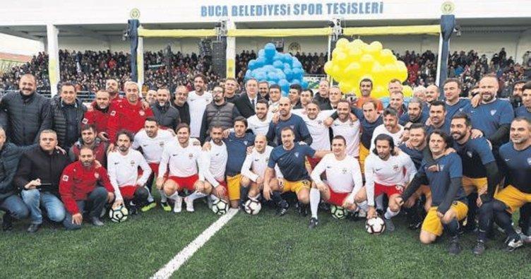 Efsaneler İzmir'de buluştu