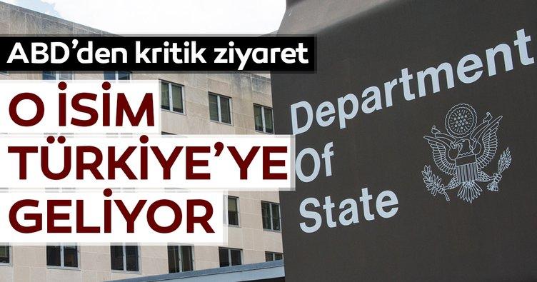 ABD'den kritik terör ziyareti... O isim Türkiye'ye geliyor...