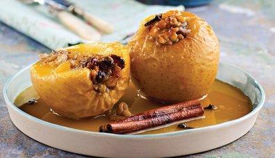 Üzümlü cevizli elma tatlısı tarifi