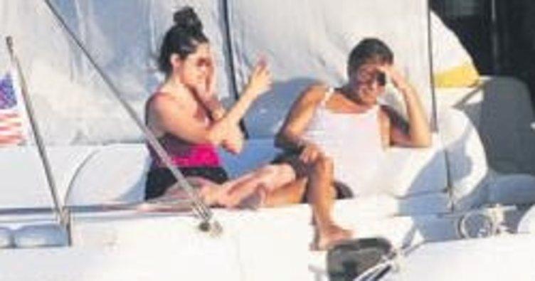 Tekne turu yaptı