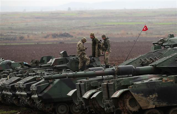 Reuters, Afrin operasyonunu dünyaya böyle duyurdu!