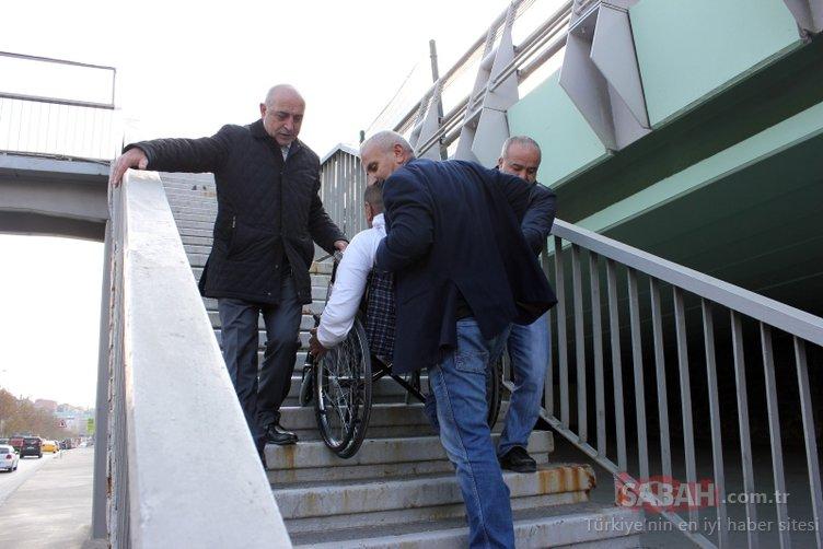 3 Aralık Uluslararası Engelliler gününde şok eden manzara