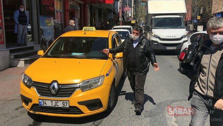 Maskesiz vatandaşı polis uyardı: Sen unuttun ama virüs unutmaz