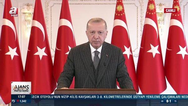 Son dakika: Cumhurbaşkanı Erdoğan'dan dev projelerin açılış töreninde önemli açıklamalar | Video