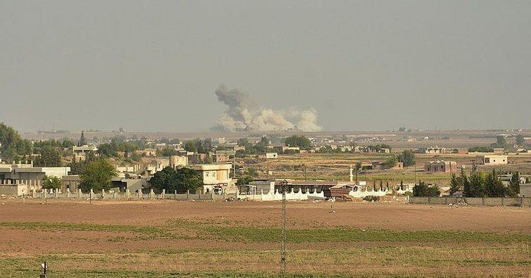 Barış Pınarı Harekatı'nda Rasulayn'dan dumanlar yükseliyor