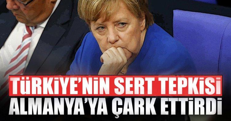 Türkiye'nin sert tepkisi Almanya'ya çark ettirdi