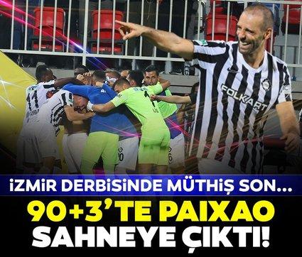 İzmir derbisi Altay'ın! Marco Paixao 90+3'te sahneye çıktı...