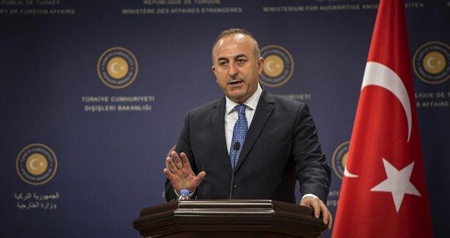 Bakan Çavuşoğlu'ndan mevkidaşlarına teşekkür