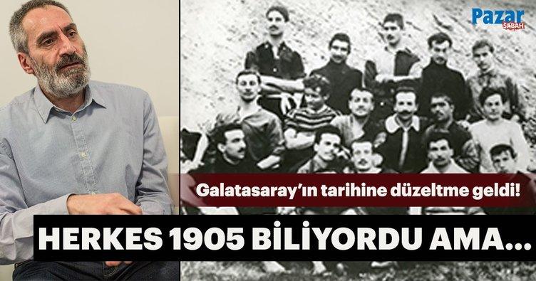 Galatasaray'ın tarihine düzeltme geldi: Takımı kurma fikri 1904'te ortaya çıktı