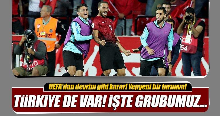 UEFA'dan yepyeni bir organizasyon! Uluslar Ligi...