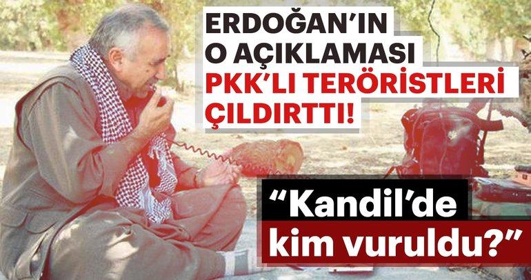 """Son Dakika: """"Kandil'de kim vuruldu"""" merakı örgütü çıldırttı"""