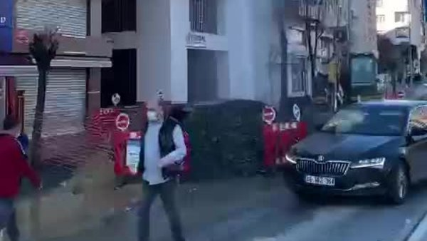 Yine İSKİ yine kaza | Video