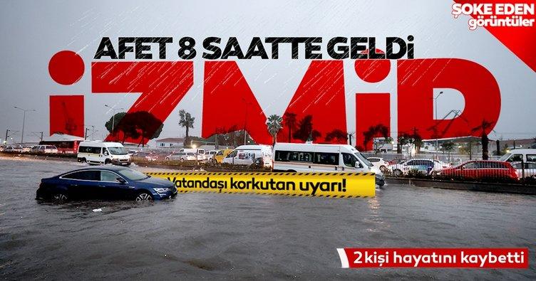 Son dakika haberi: İzmir sel felaketinden acı haber geldi! Can kaybı 2'ye yükseldi