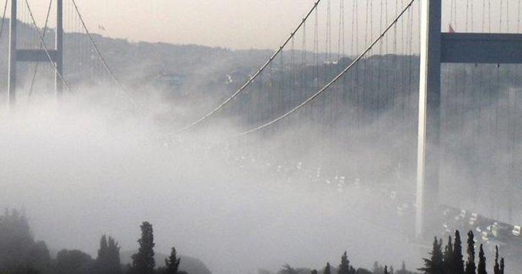 Hava durumu: Marmara'da sis bekleniyor