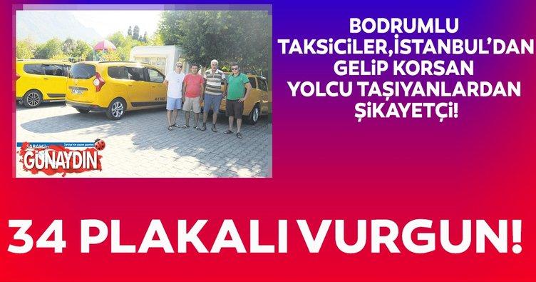 Bodrum'da 34 plakalı vurgun