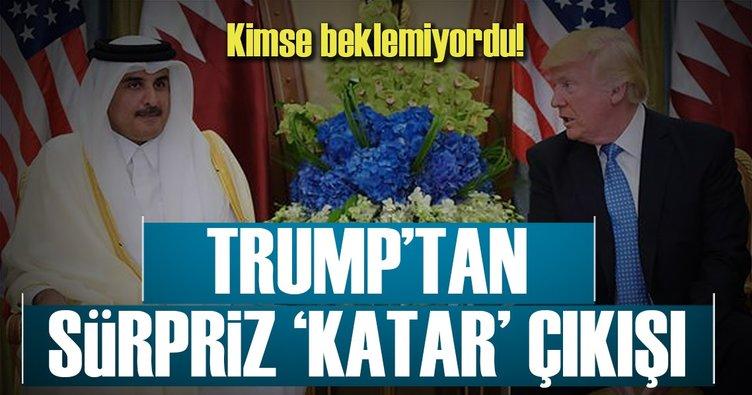 Trump'tan flaş Katar kararı!