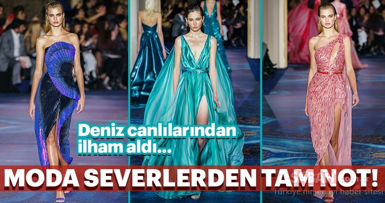 Haute Couture İlkbahar/Yaz 2019'a Zuhair Murad damgası!