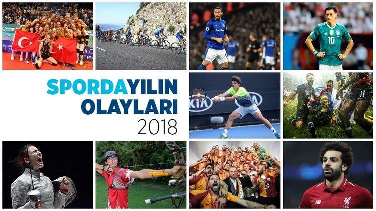 2018'de yaşanan spor olayları
