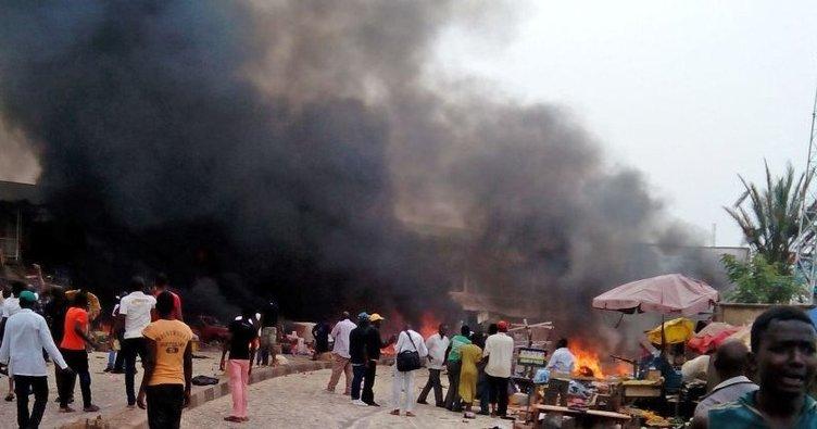 Nijerya'da benzin istasyonunda patlama