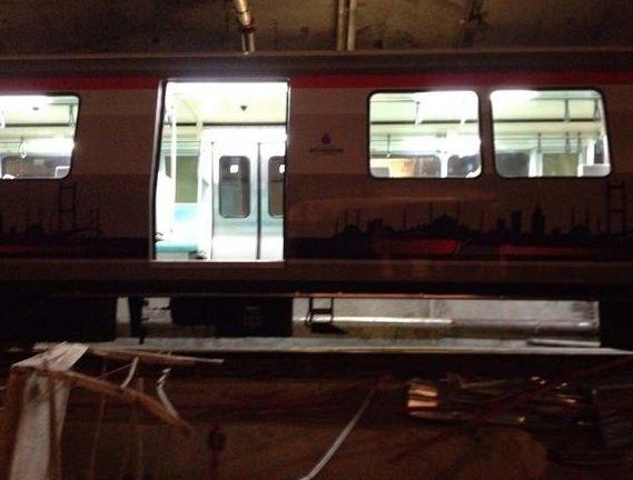 Hacıosman - Yenikapı metrosunda korkunç olay