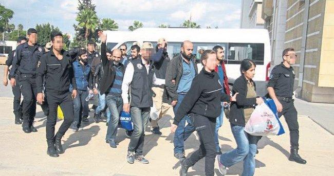 PKK operasyonunda yedi kişi tutuklandı