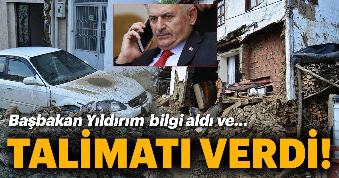 Son Dakika Haber: Başbakan Binali Yıldırım, Bursa'daki sel felaketine ilişkin bilgi aldı!