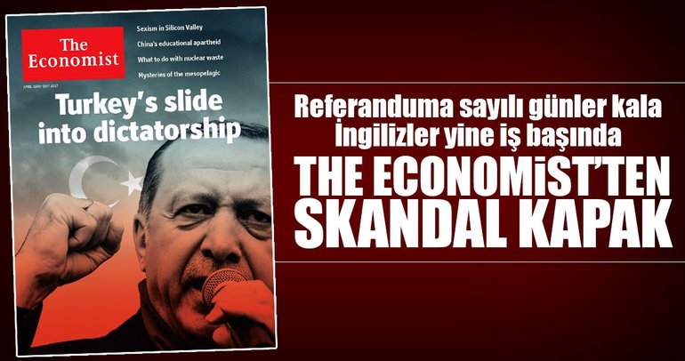 The Economist'ten yine skandal kapak
