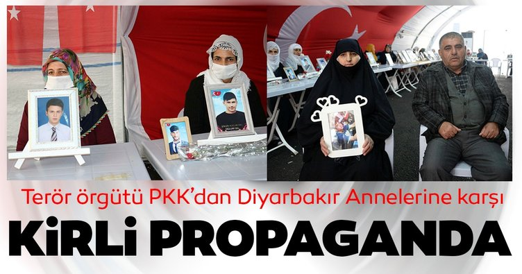 Terör örgütü PKK'dan Diyarbakır Anneleri'ne kirli propaganda