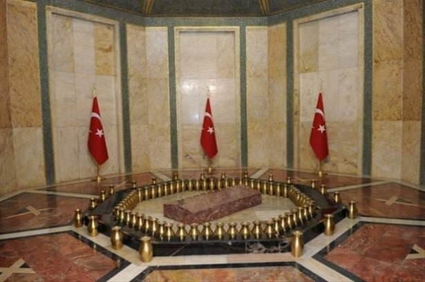 Anıtkabir'in en gizli odası görüntülendi