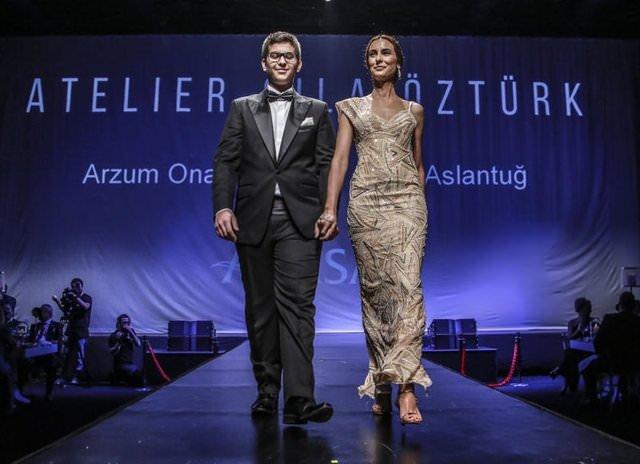 Arzum Onan ve Mehmet Aslantuğ'un en mutlu günü