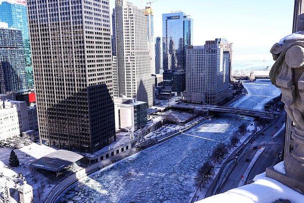 ABD'de kış sert geçiyor