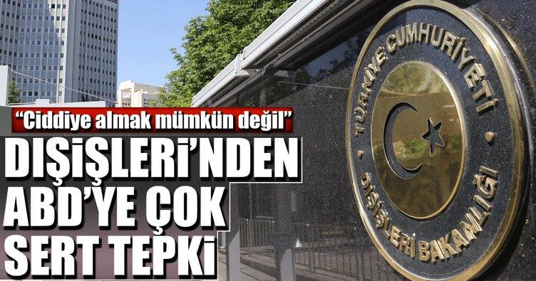 Son dakika: Türkiye'den ABD'ye sert cevap!