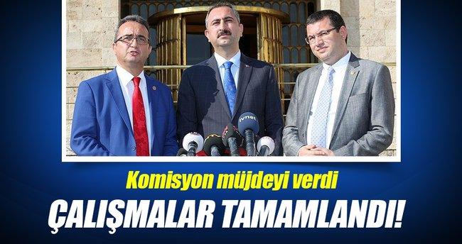 Anayasa değişikliği komisyonu yazım çalışmalarını tamamladı!