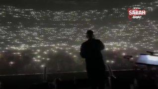 Covid-19 hiçe sayıldığı konserden skandal görüntüler | Video