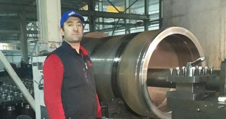 Fabrikadaki hidrolikmakinede patlama: 1 işçi öldü