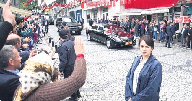 Baba ocağında Erdoğan izdihamı