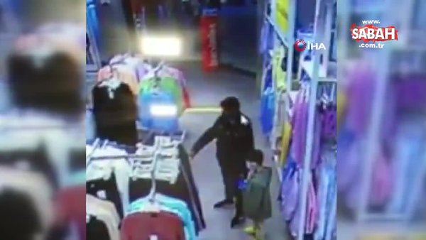 İstanbul Şişli'de hırsız, çocuğun elindeki telefonu böyle çaldı