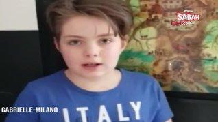 İtalyan çocuktan yardım sonrası Türkiye'ye duygu dolu mesaj | Video