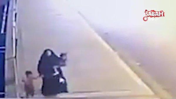 Bağdat'ta şoke eden görüntü! 2 çocuğunu Dicle Nehri'ne böyle attı! | Video