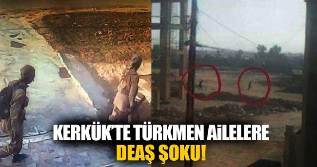 DEAŞ 3 Türkmen aileyi rehin aldı