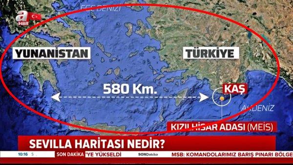 Son dakika haberi: Yunanistan'ın skandal Sevilla Haritası nedir? ABD'den 'Sevilla Haritası' hakkında flaş açıklama!   Video