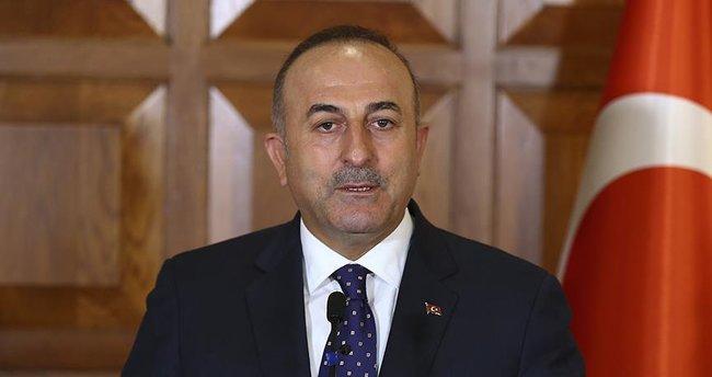 Çavuşoğlu, Guterres ile telefonda görüştü